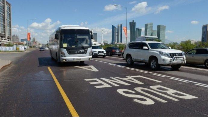 2019 жылы қай көшелерде Bus Lane пайда болады