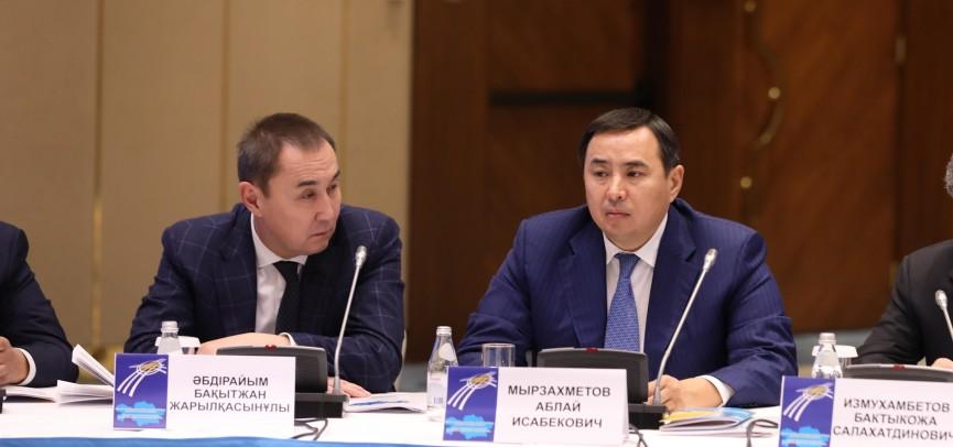 Аблай Мырзахметов: «Благополучие граждан и развитие МСБ – ключевые моменты послания»