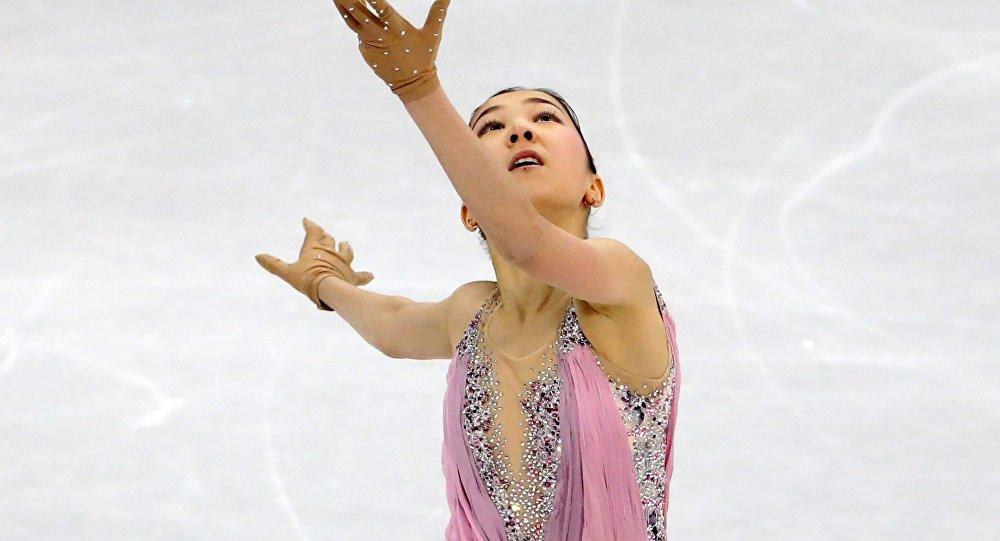Фигуристка Элизабет Турсынбаева завоевала серебряную медаль на Турнире четырех континентов