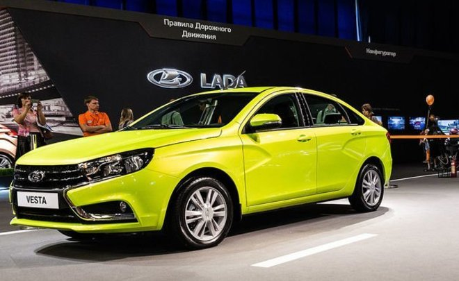 LADA Vesta и LADA Granta вошли в сотню самых продаваемых автомобилей в Европе