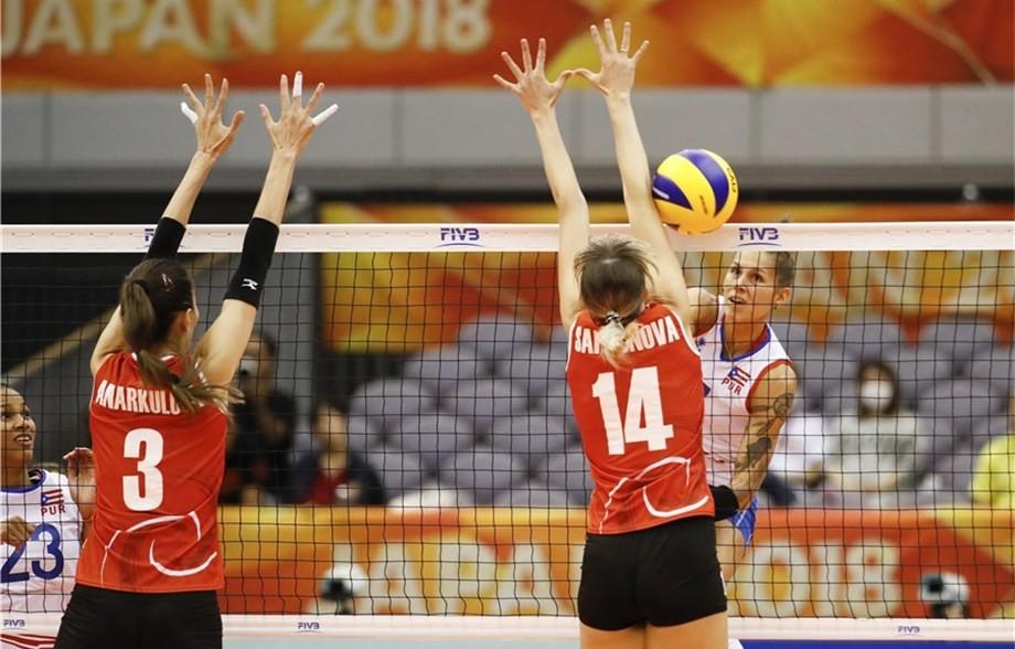 ЧМ по волейболу: Казахстанки почти потеряли шансы на второй круг