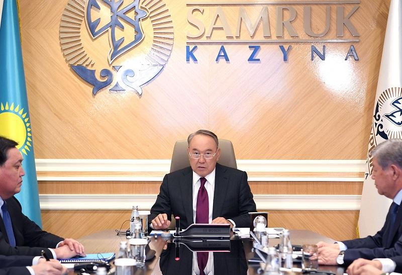 Нурсултан Назарбаев подчеркнул важность эффективного управления долями государства в совместных компаниях