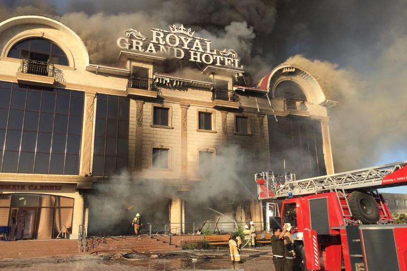 Мощный взрыв прогремел в Туркестане
