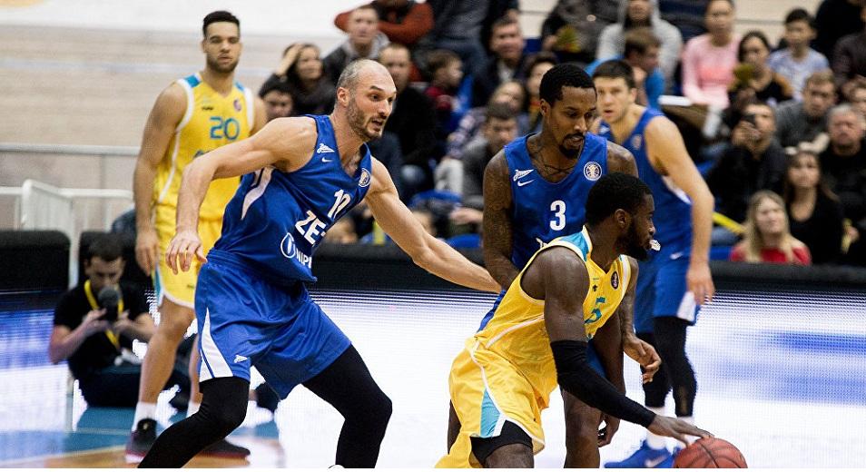 Единая лига ВТБ: «Астана» вырвала победу у «Зенита»
