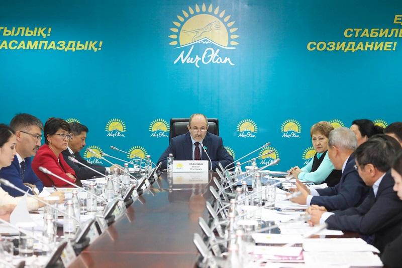 Комитет партийного контроля Nur Otan рекомендовал привлечь к ответственности замакима ВКО