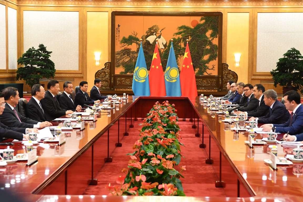 Сагинтаев провёл переговоры с председателем КНР Си Цзиньпином