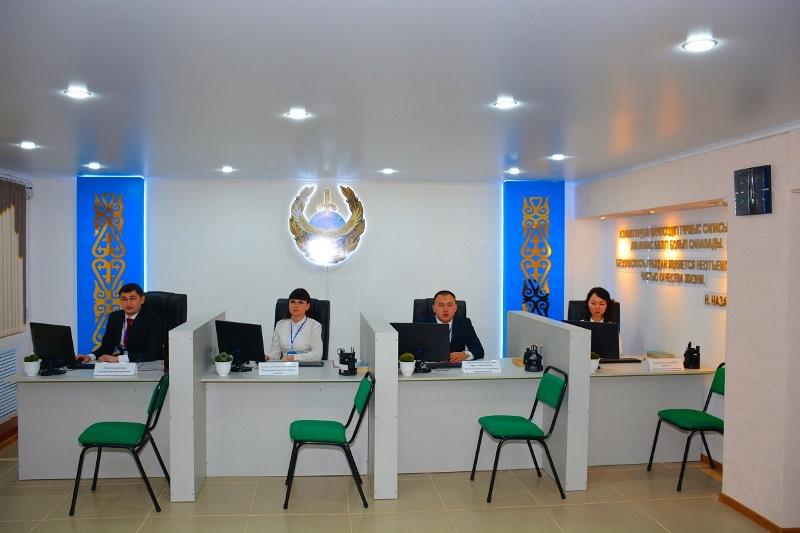 В Петропавловске открыли первый в СКО фронт-офис полиции