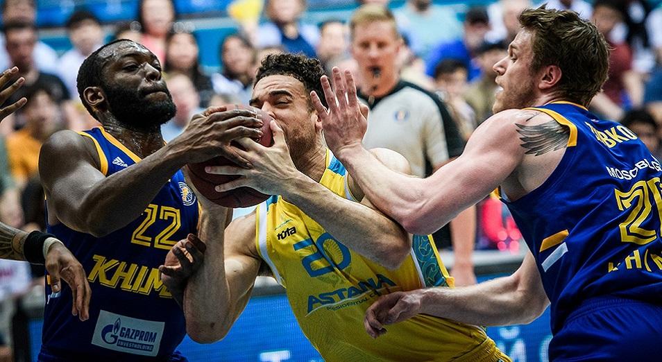 «Астана» баскетболшылары биыл да жартылай финалға шыға алмады