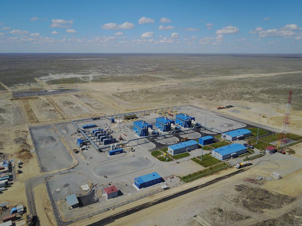 Газопровод Бейнеу – Бозой – Шымкент вышел на полную мощность