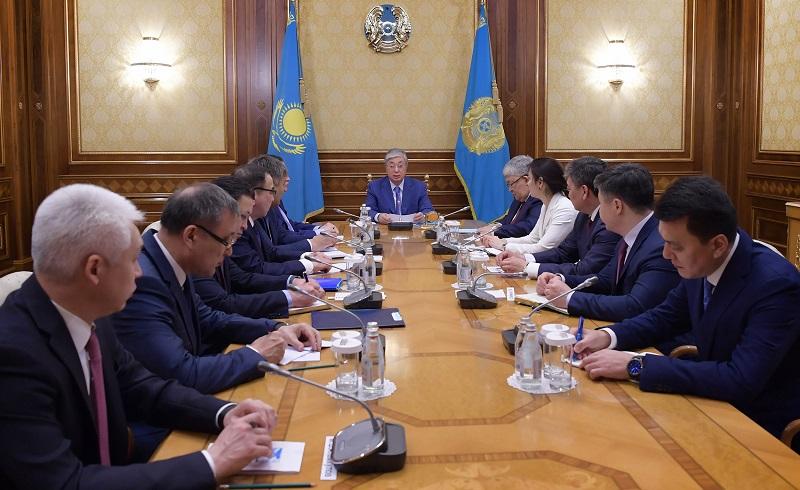 Глава государства представил нового руководителя Администрации Президента – Крымбека Кушербаева
