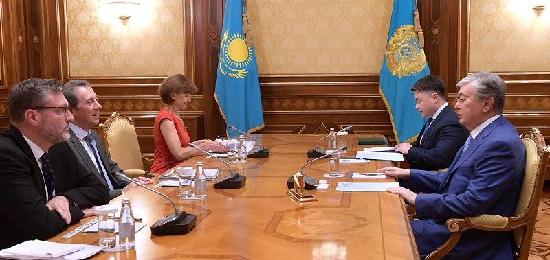 Касым-Жомарт Токаев встретился с вице-президентом ВБ