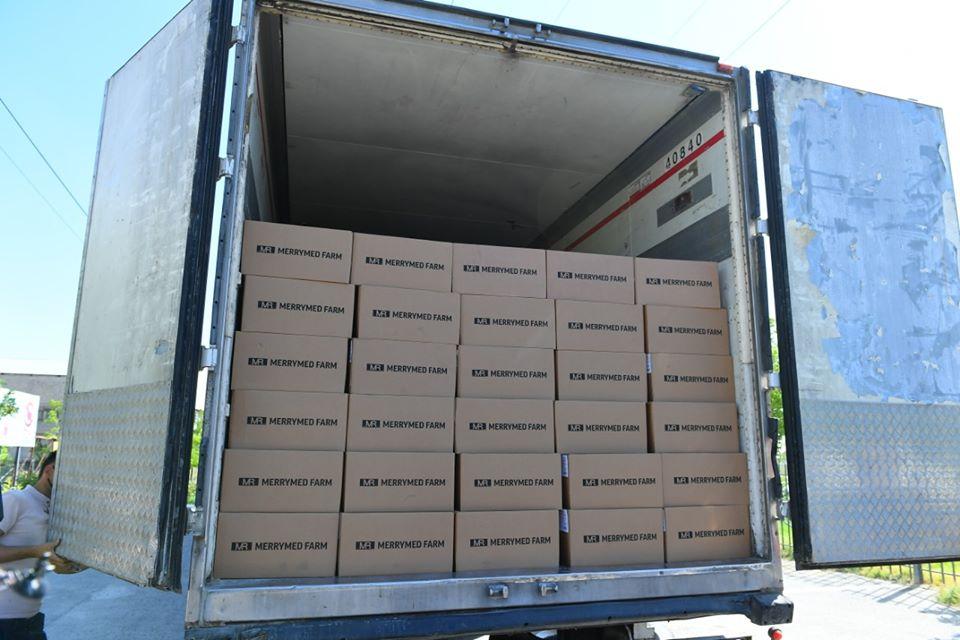 Түркістан облысы Өзбекстаннан 142 мың қорап дәрі-дәрмек сатып алды