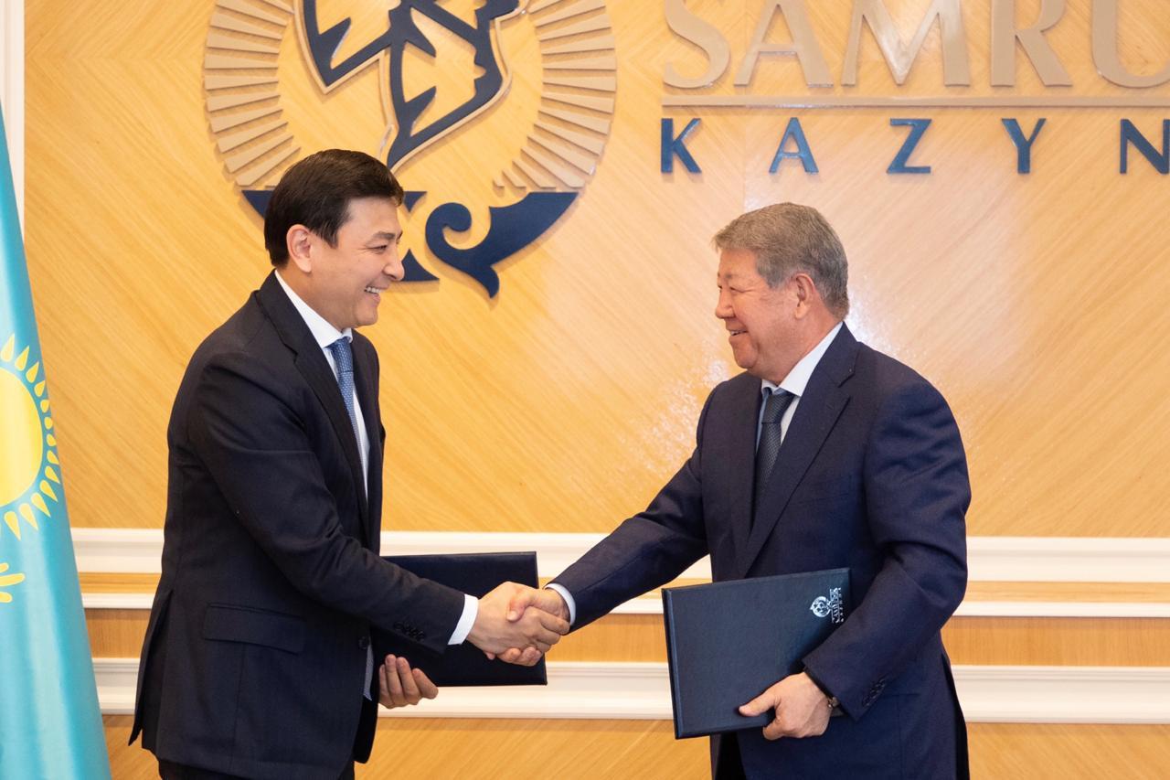 «Самрук-Казына» и акимат столицы обсудили строительство газопровода «Сарыарка»