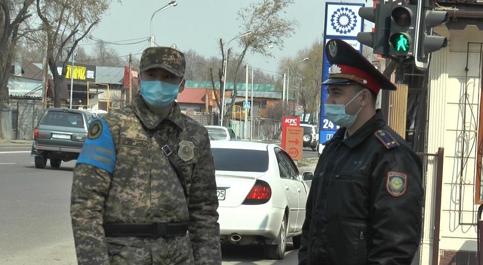 Полторы тысячи полицейских будут контролировать алматинцев