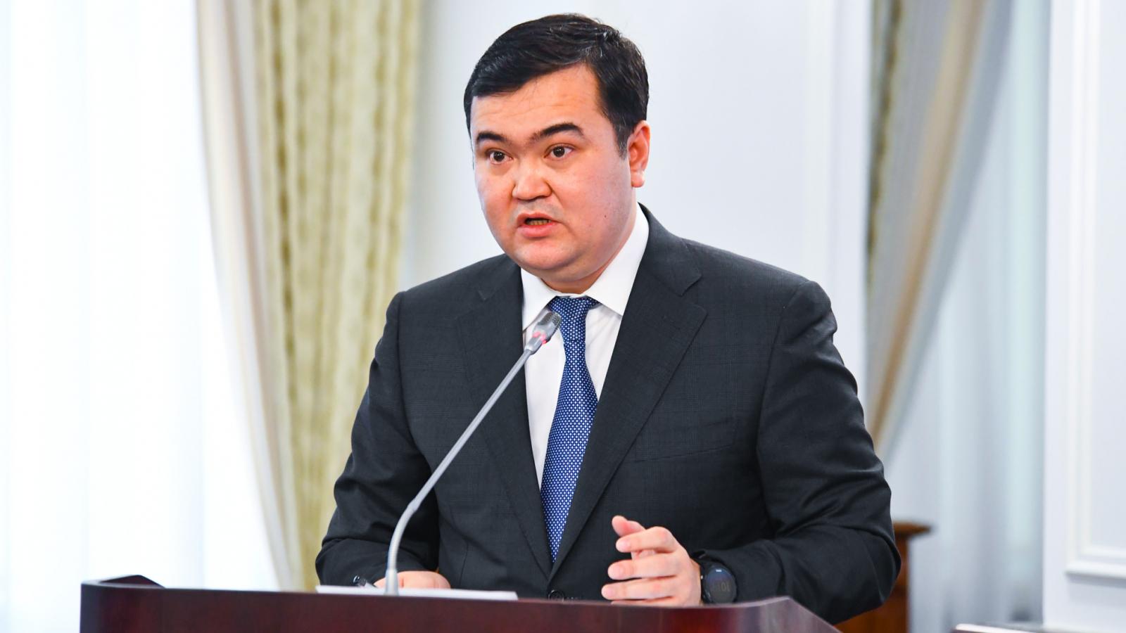 Министр индустрии и инфраструктурного развития РК подвёл итоги года