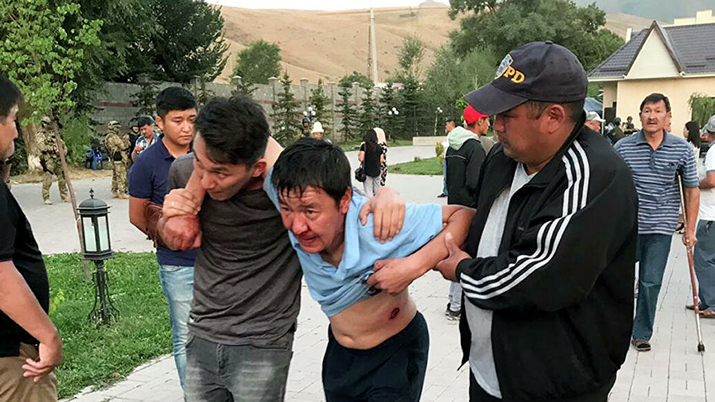 Кыргызстан на грани гражданской войны