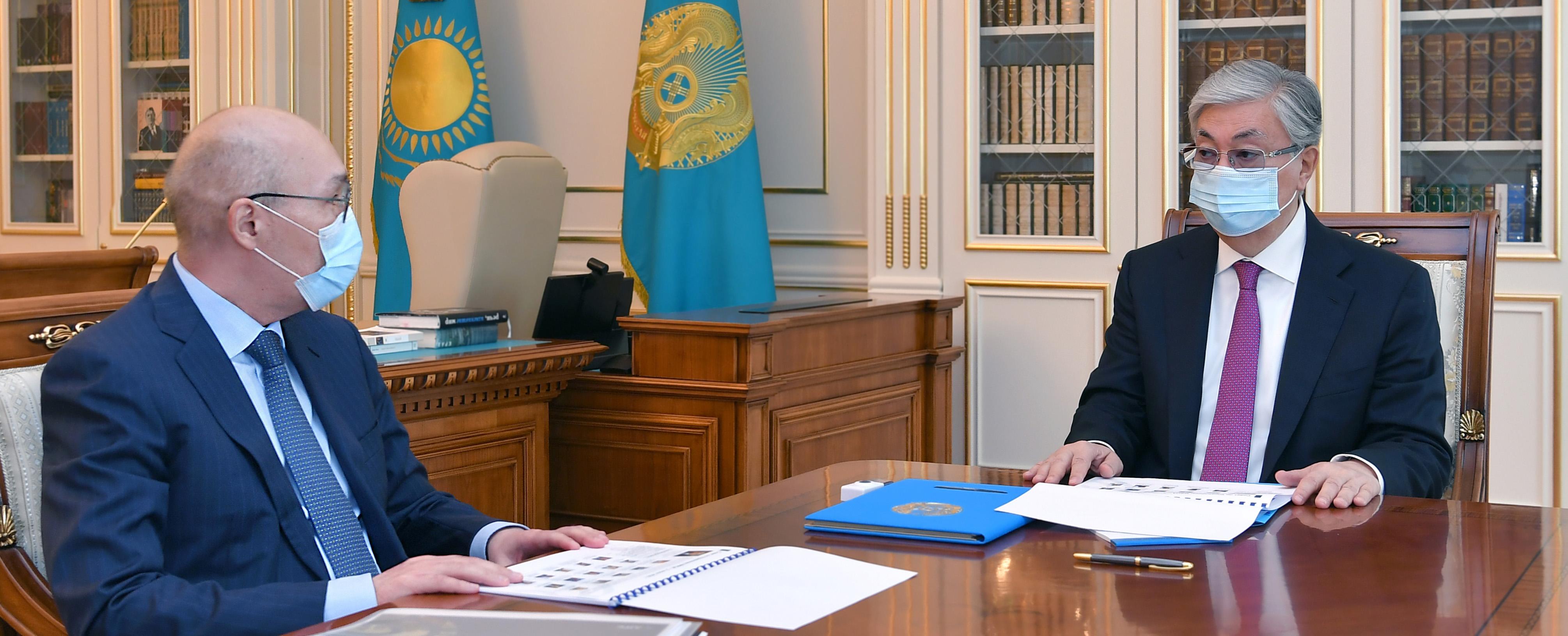 Қайрат Келімбетов Президентке АХҚО жұмысын жаңғырту жайын баяндады