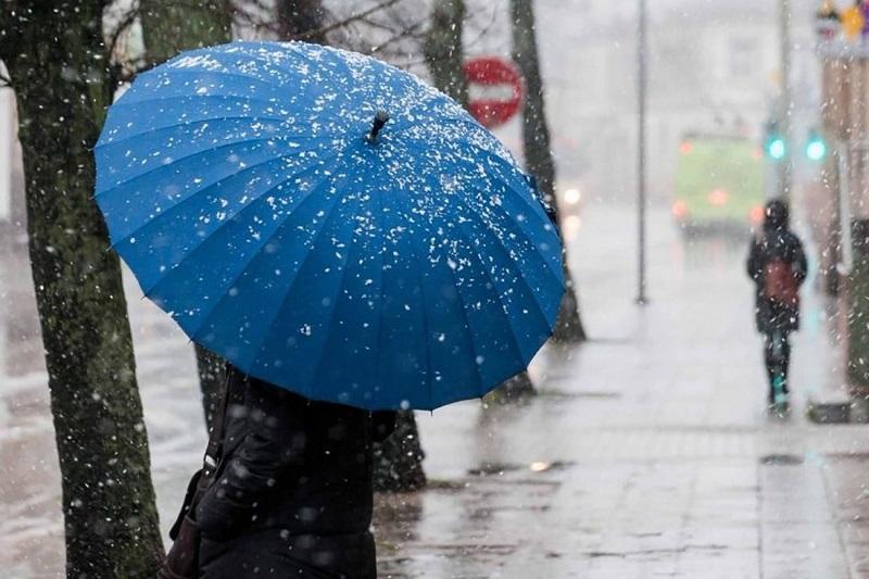 Дождь с переходом в снег прогнозируют синоптики на севере Казахстана