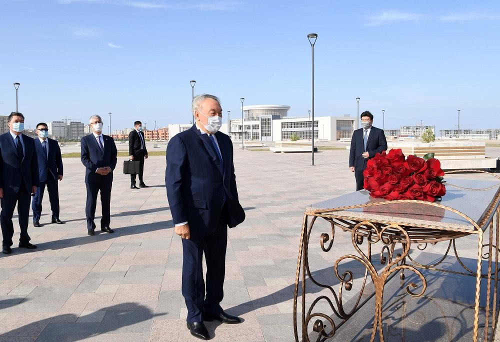 Первый Президент Казахстана посетил музей имени Абиша Кекилбаева