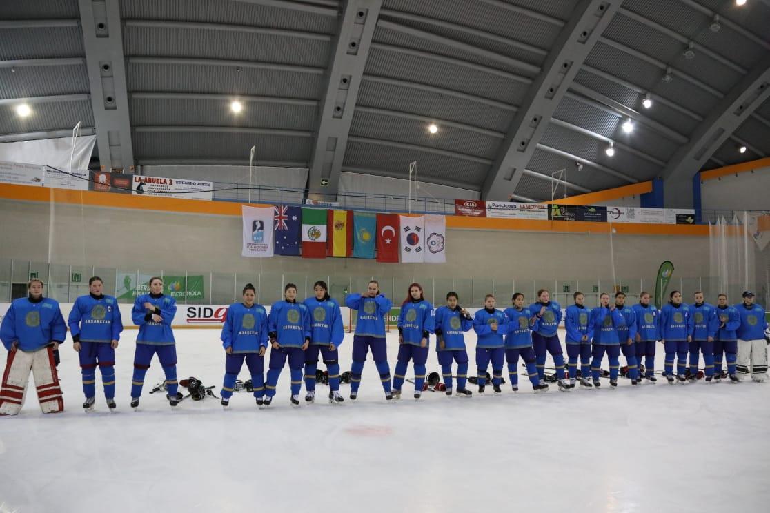 Женская команда РК по хоккею одержала победу над Тайбэем