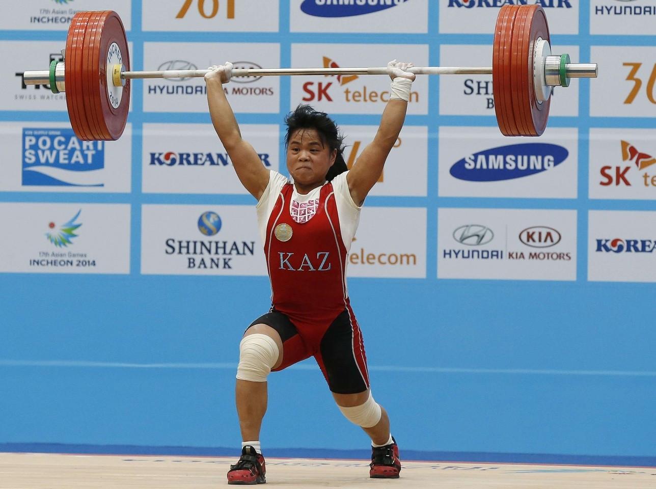 Зульфия Чиншанло стала третьей на турнире по тяжелой атлетике в Гродно
