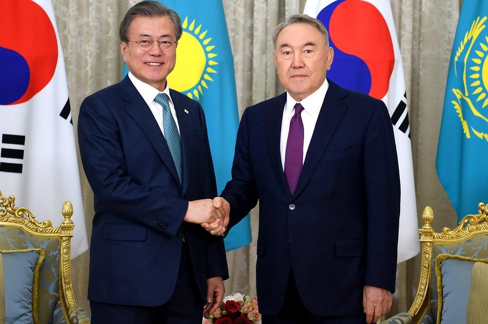 Оңтүстік Корея Президенті Елбасыға жеделхат жолдады