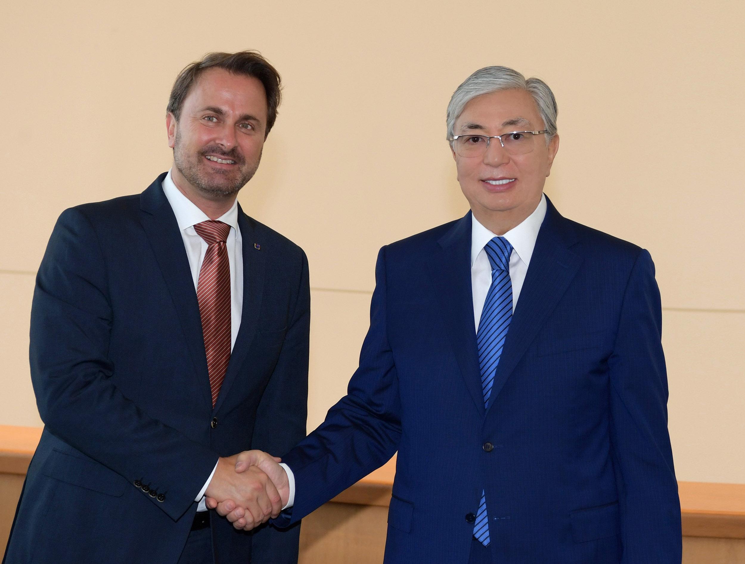 Казахстан и Люксембург усилят взаимодействие в области финансовых услуг
