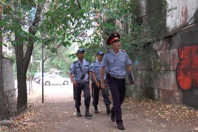 Полицейские Алматы будут чаще патрулировать общественные места