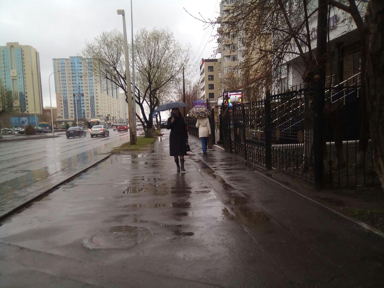 Обильные осадки не повлияют на паводковую ситуацию в Казахстане