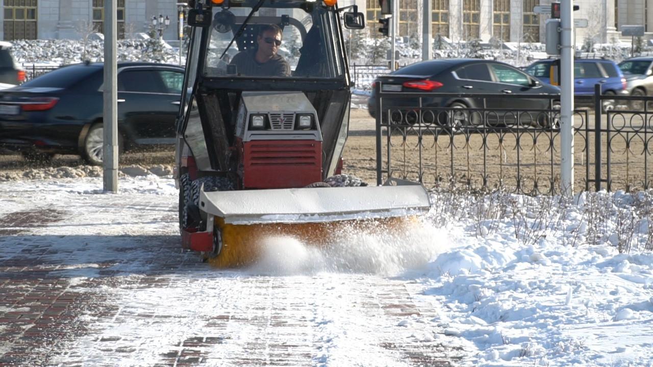 Жителей столицы будут информировать об уборке снега