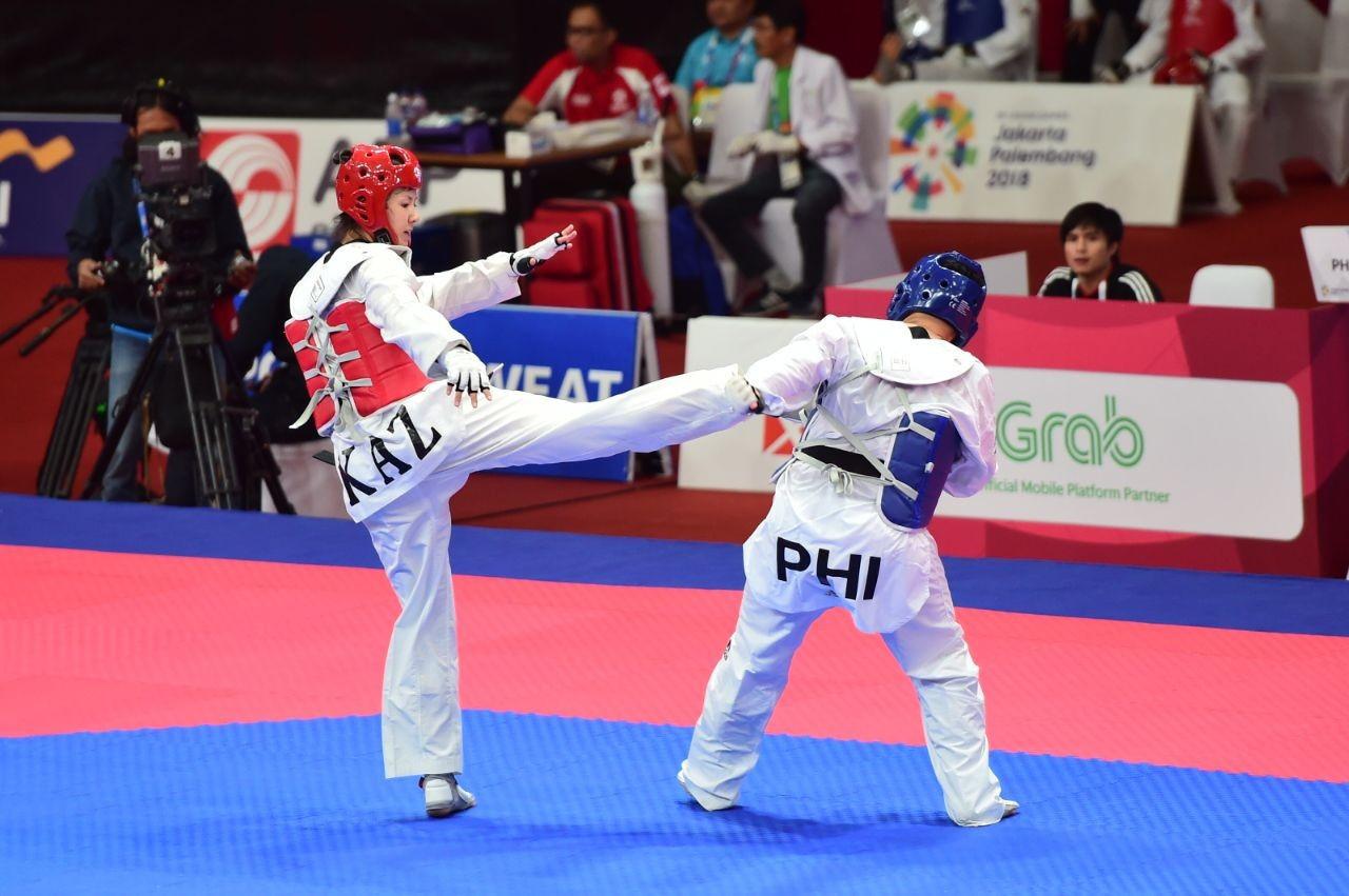 Казахстанские таеквондисты завоевали три медали на рейтинговом турнире в Иране