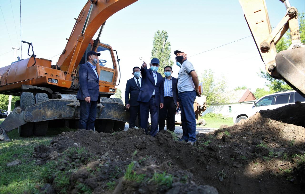 Семь сел газифицируют в этом году в Жамбылской области