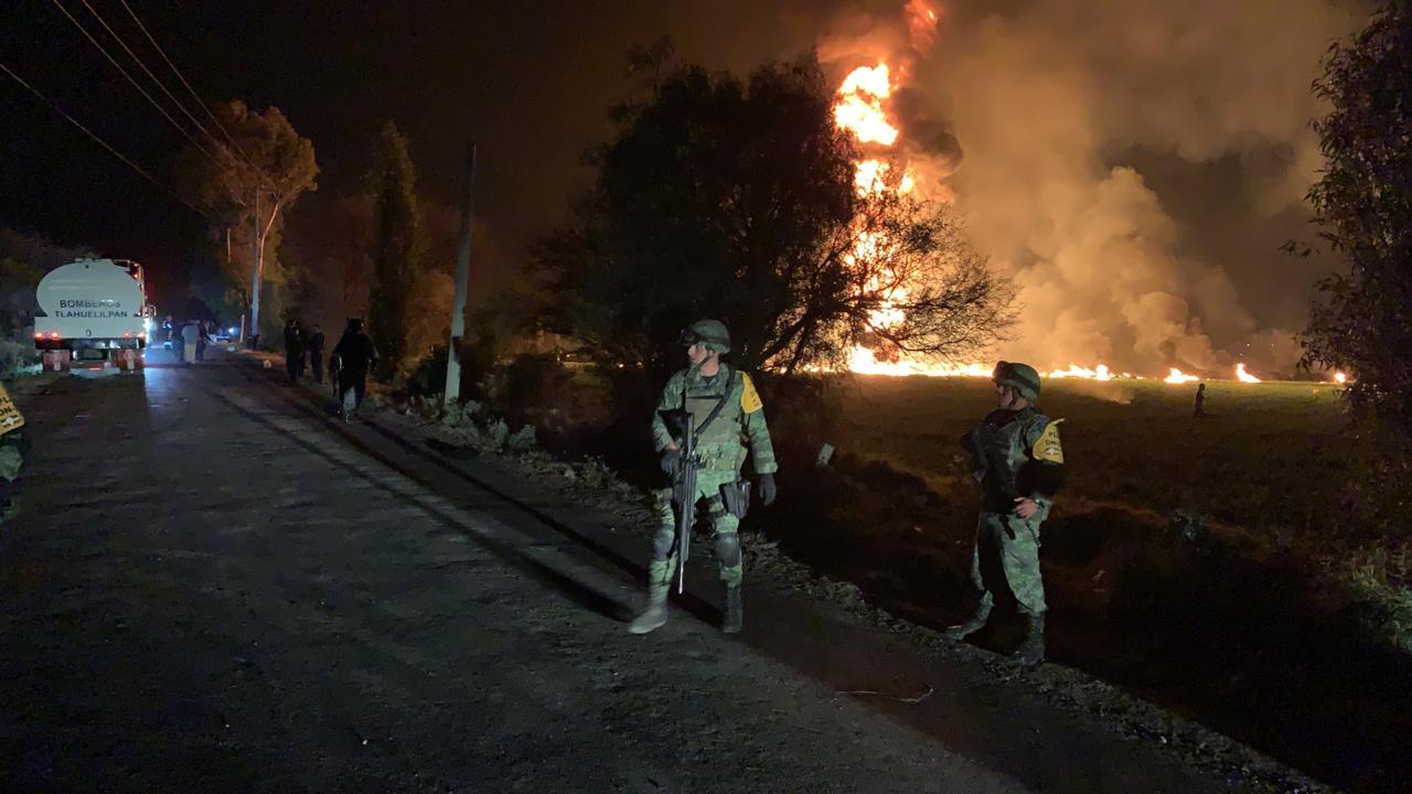 Число погибших в результате взрыва на трубопроводе в Мексике возросло до 131 человека