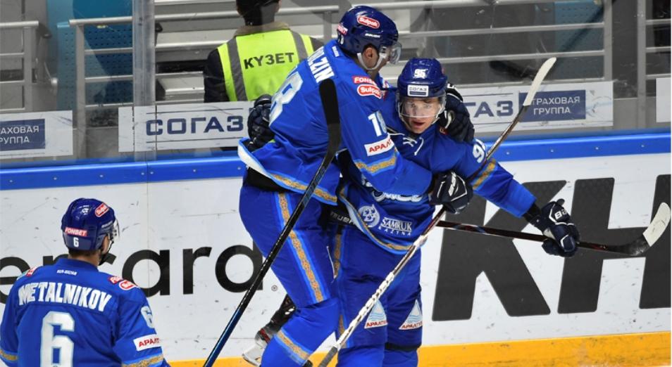 Регулярка КХЛ: «Барыс» – потенциально третий на «Востоке»
