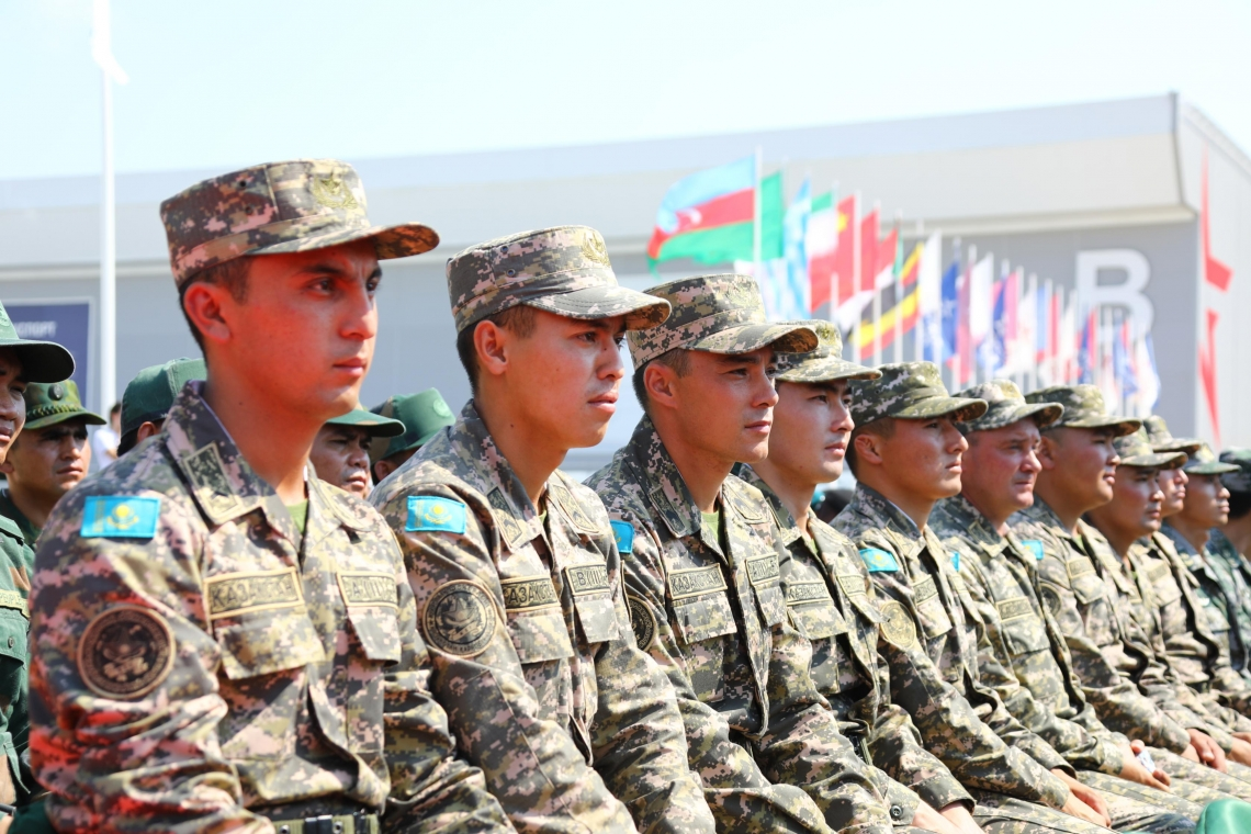 В Казахстане открылись Армейские игры – 2019