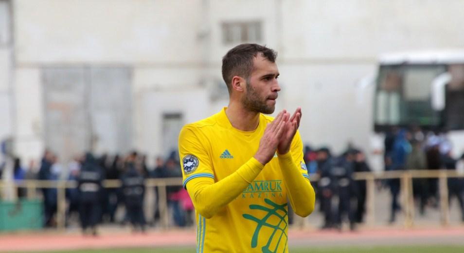 Instat признал Аничича лучшим игроком «Астаны» в еврокубках