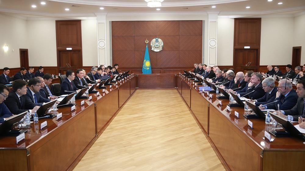 Аскар Мамин: товарооборот Казахстана со странами ЕС за девять месяцев достиг порядка $24 млрд