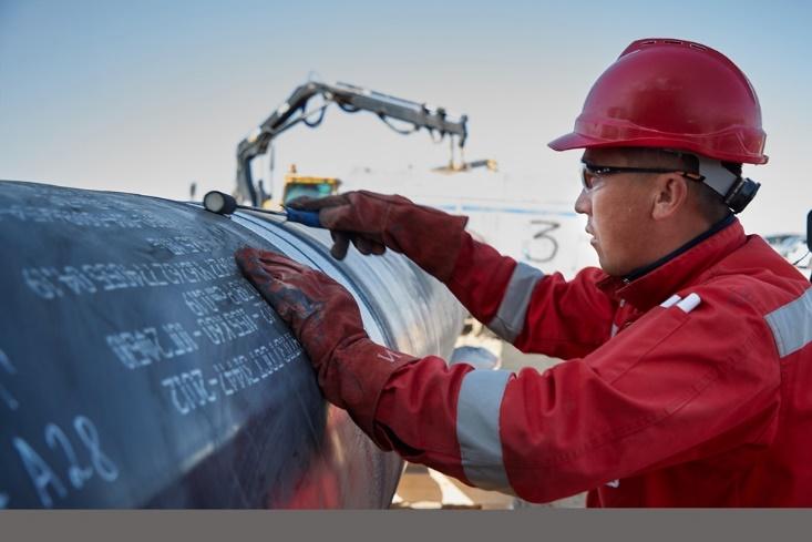 Сварено более 50% линейной части газопровода «Сарыарка»