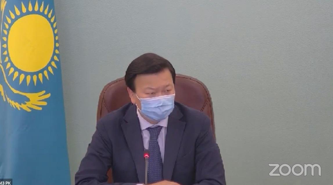 Алексей Цой провел телефонный разговор с послом КНР в РК