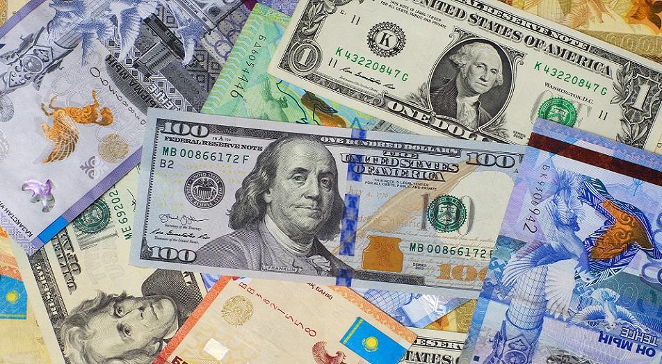 Шетелдік валютаны саудалау көлемі 5 трлн 448,7 млрд теңгеге жетті