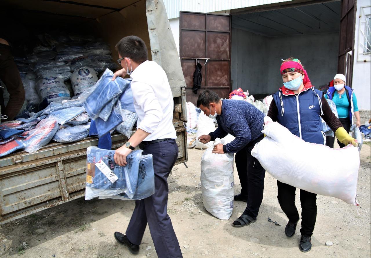 Жамбыл облысында тәркіленген тауарлар жұртқа таратылады