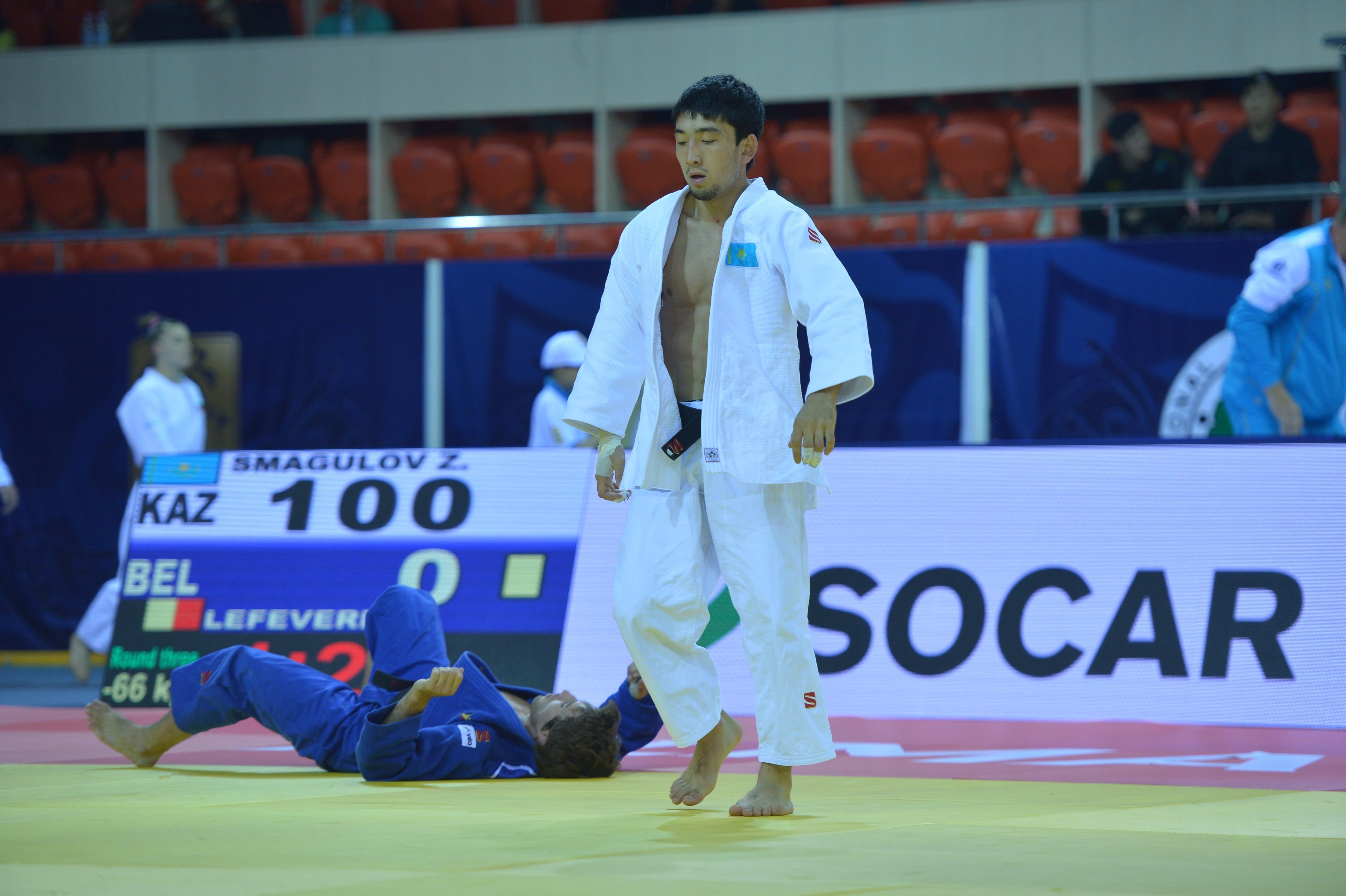 Чемпионат мира по дзюдо пройдет в Алматы