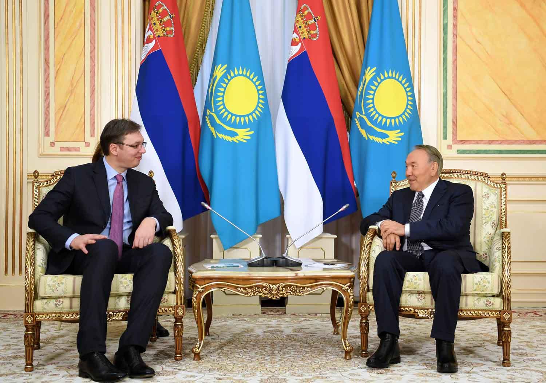 Түркіменбашы мен Сербия Президенті Елбасыға саулық тіледі