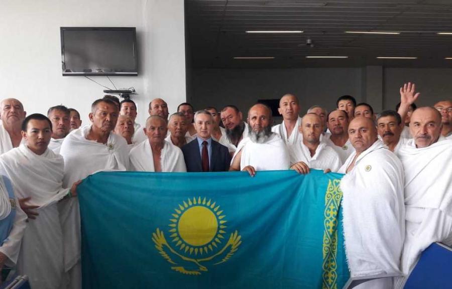 Более трех тысяч паломников из Казахстана доставлены в Саудовскую Аравию