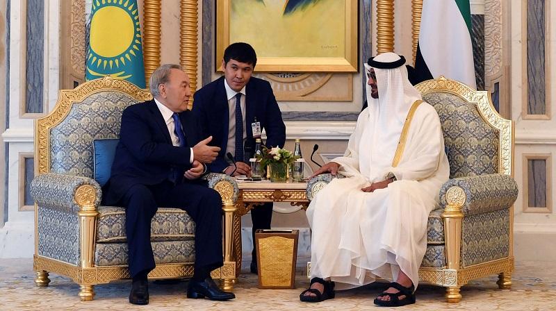 Президент ОАЭ и правитель эмирата Дубай пожелали Назарбаеву скорейшего выздоровления