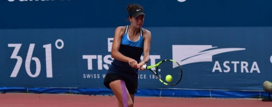 Анна Данилина вышла в финал международного турнира ITF