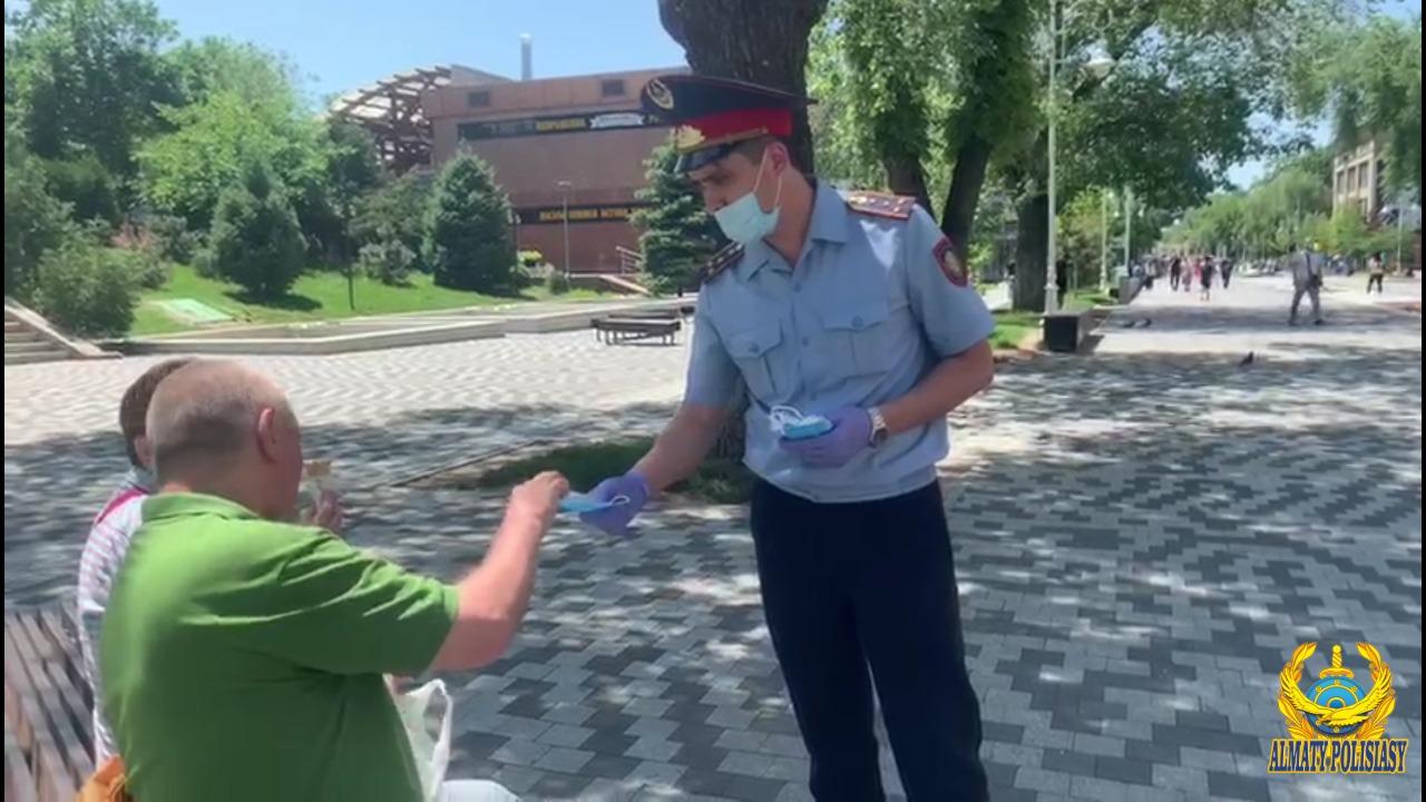 В Алматы усилили разъяснительную работу по соблюдению карантина