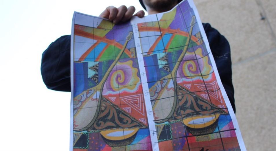 Уличные художники добавляют колорита