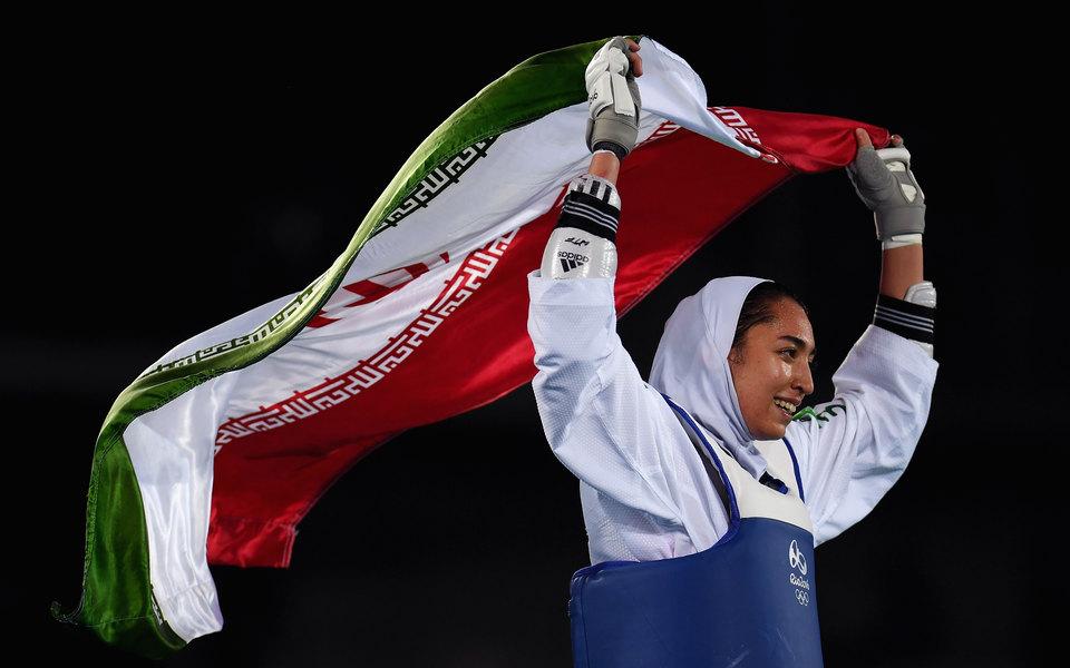 Иран тарихында Олимпиададан жүлде бұйырған жалғыз әйел елден кетті