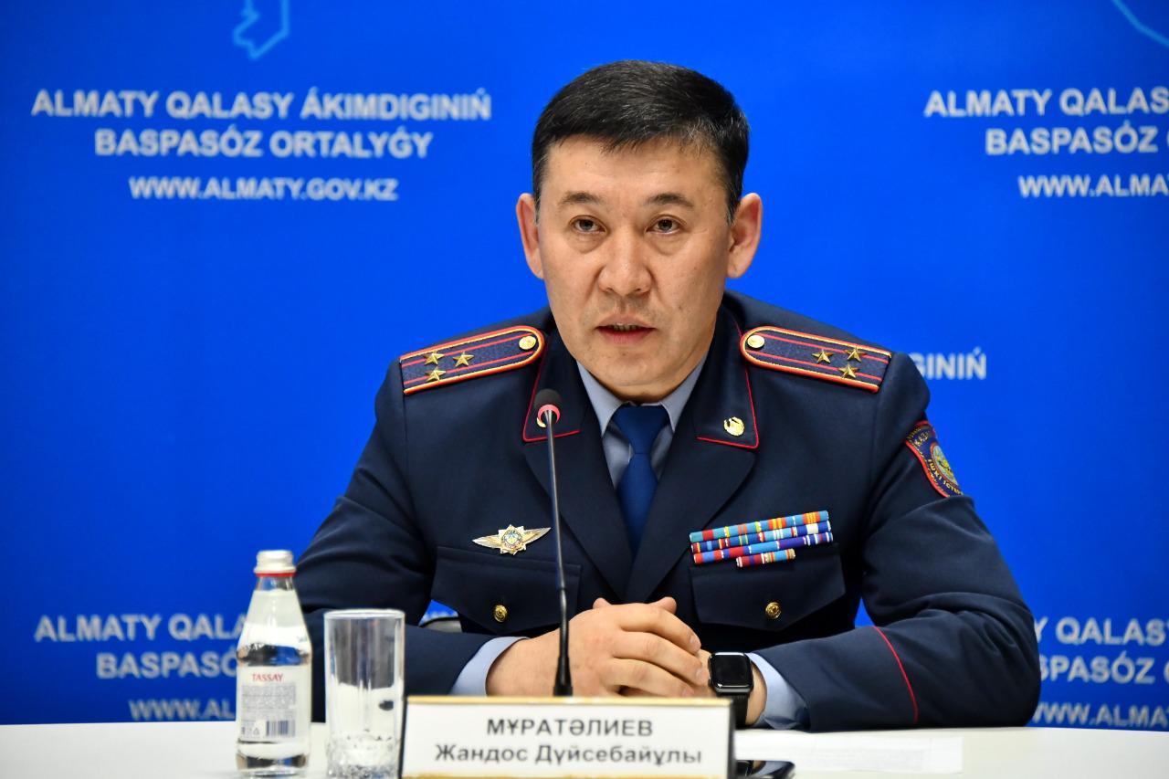 Очаги заражения в Алматы оцеплены полицейскими и бойцами Национальной гвардии